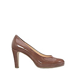 Gabor - Brown 'Splendid' Womens Dress Court Shoes