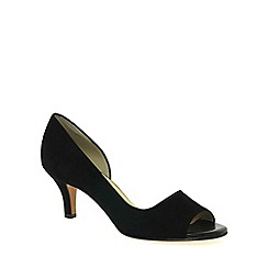 Peter Kaiser - Black 'jamala ii' womens open toe court shoes