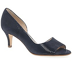 Peter Kaiser - Dark blue 'jamala ii' womens open toe court shoes