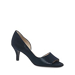 Peter Kaiser - Navy 'Jamala II' Womens Open Toe Court Shoes