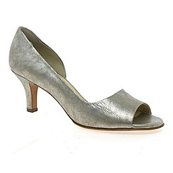 Peter Kaiser - Metallic 'Jamala ii' womens open toe court shoes