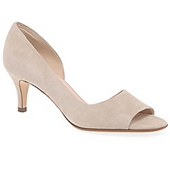 Peter Kaiser - Natural 'Jamala II' womens open toe court shoes