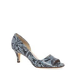 Peter Kaiser - Light grey 'Jamala II' Womens Open Toe Court Shoes
