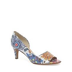 Peter Kaiser - White 'Jamala II' women's open toe court shoes