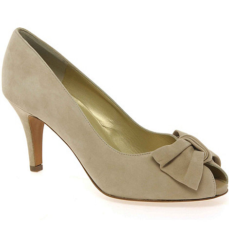 Peter Kaiser - Beige Samos Womens Suede Court Shoes