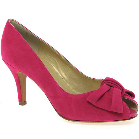 Peter Kaiser - Pink Samos Womens Suede Court Shoes