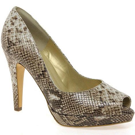 Peter Kaiser - Brown Patu Womens High Heeled Open Court Shoes