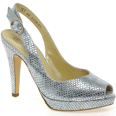 Peter Kaiser - Silver Pepsy Womens Open Toe Court Shoes