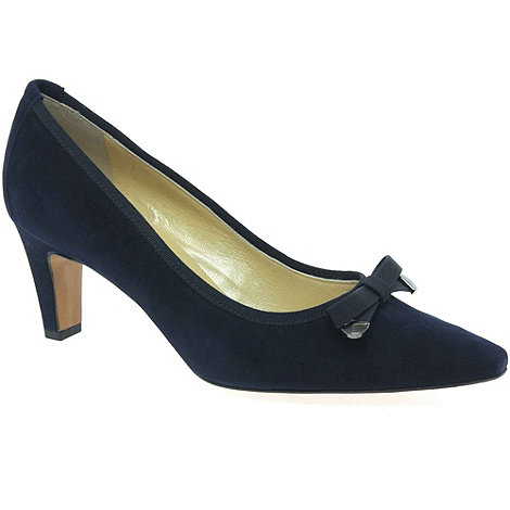 Peter Kaiser - Navy Maira Womens Suede Court Shoes