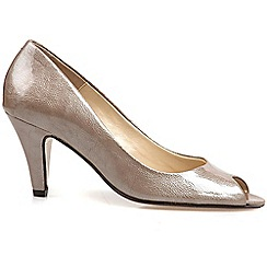 Van Dal - Rose 'holkham' womens open toe court shoes