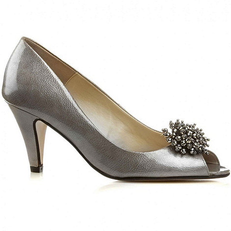 Van Dal - Metallic Holkham Womens Open Toe Court Shoes
