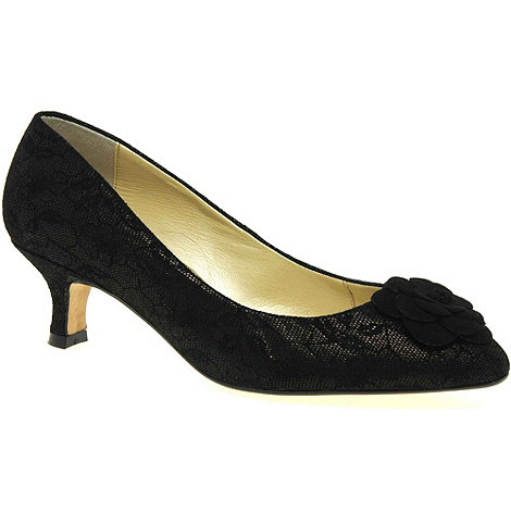 Van Dal - Near black +elveden+ womens court shoes
