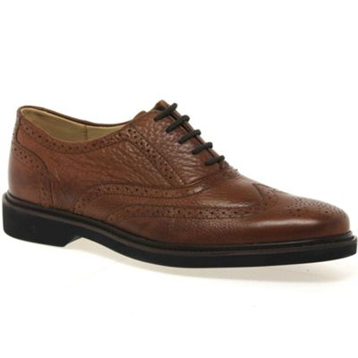 Anatomic Gel Tan ´gabriel´ mens lace up shoes - . -