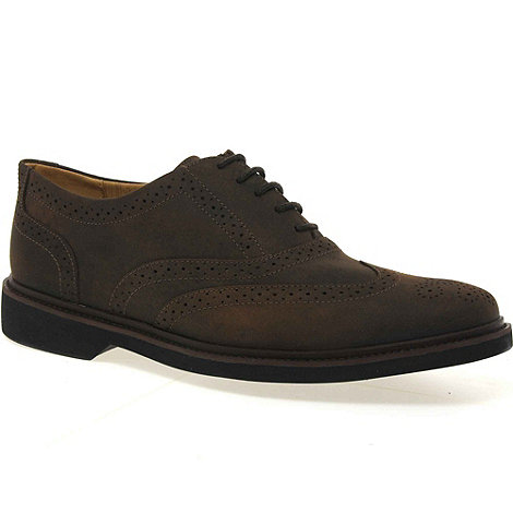 Anatomic & Co - Dark brown +gabriel+ mens lace up shoes