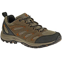Merrell - Brown 'tucson' mens lace up trainers