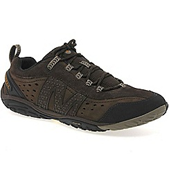 Merrell - Brown 'venture glove' mens lace up trainers