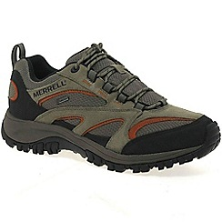 Merrell - Taupe 'phoenix gore-tex' mens casual waterproof shoes