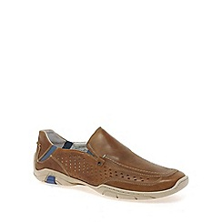 Josef Seibel - Tan 'Pietro' men's slip on casual shoes