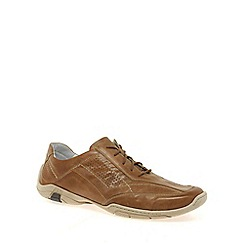 Josef Seibel - Tan 'Peter' lace mens casual shoes