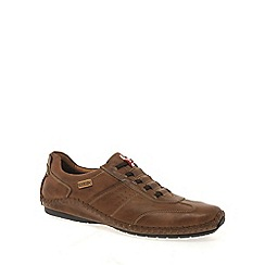 Pikolinos - Tan 'Freeway' mens casual leather shoes
