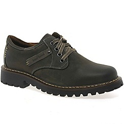 Josef Seibel - Dark brown 'Chancellor' Mens Casual Lace Up Shoes