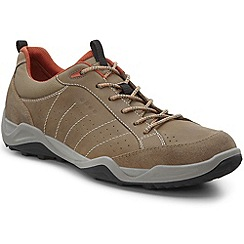 Ecco - Light brown 'Sierra II' mens Lace up trainers