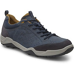 Ecco - Grey 'Sierra II' mens lace up trainers