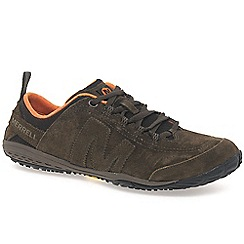 Merrell - Brown 'excursion' glove mens casual sports shoes