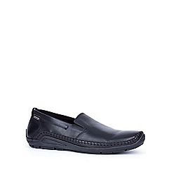Pikolinos - Black 'alston' mens lightweight casual shoes