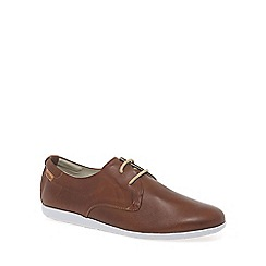 Pikolinos - Tan 'faro' mens lightweight casual shoes