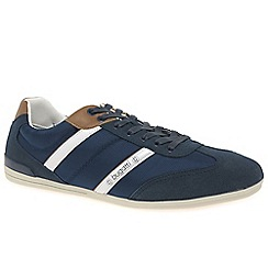 Bugatti - Dark blue 'Oder' casual trainers
