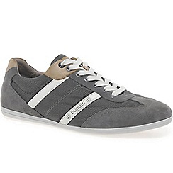 Bugatti - Grey 'oder' mens lace up trainers