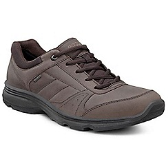 Ecco - Brown 'Light IV' gortex mens casual sports shoes
