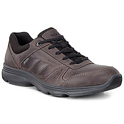 Ecco - Dark brown 'Light IV' Gortex Mens Casual Sports Shoes