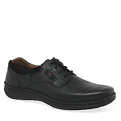 Josef Seibel - Black 'Anvers 36' mens lightweight casual shoes