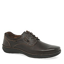 Josef Seibel - Dark brown 'Anvers 36' mens lightweight casual shoes