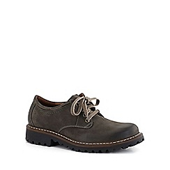 Josef Seibel - Dark brown 'Chance 13 lace' mens casual shoes