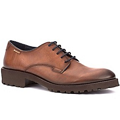 Pikolinos - Tan 'Cork' mens lightweight casual shoes
