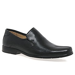 Anatomic & Co - Black 'Petropolis' mens slip on shoes