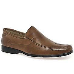 Anatomic & Co - Tan 'Petropolis' mens slip on shoes