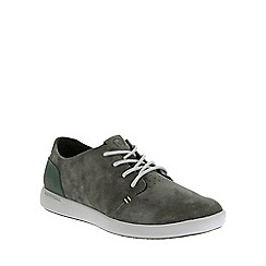 Merrell - Grey 'Freewheel Bolt Lace' Mens Casual Suede Shoes
