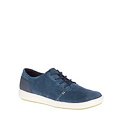 Merrell - Navy 'Freewheel Bolt Lace' Mens Casual Suede Shoes