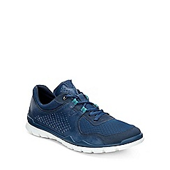 Ecco - Blue 'Lynx' Mens Casual Sports Trainers