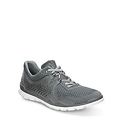 Ecco - Grey 'Lynx' Mens Casual Sports Trainers