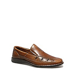 Josef Seibel - Brown 'Steven 12' Mens Slip On Shoes