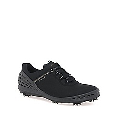 Ecco - Black 'Cage' Mens Golf Shoes