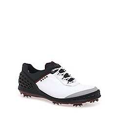 Ecco - White 'Cage' Mens Golf Shoes