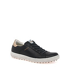 Ecco - Black 'Casual Hybrid' Mens Golf Shoes