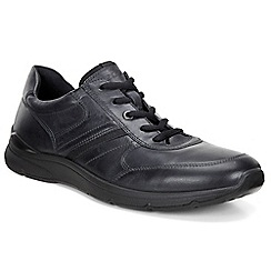 Ecco - Black 'Irving' Mens Casual Shoes