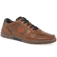 Bugatti - Tan 'Region' mens casual shoes